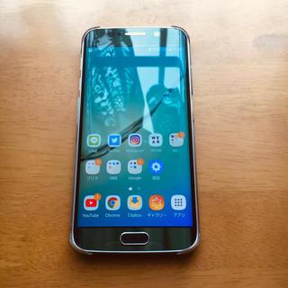 SAMSUNG - Galaxy S6 edge Green 64 GB docomo