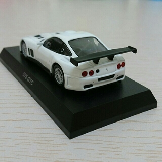 Ferrari - 京商 1/64 フェラーリ575 GTC 白色