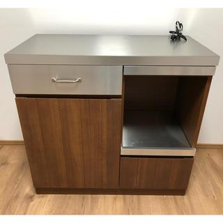 ウニコ(unico)のウニコ unico ストラーダ キッチンボード レンジ台 食器棚(キッチン収納)