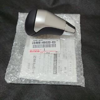 トヨタ - トヨタ ハリアー 純正シフトノブ