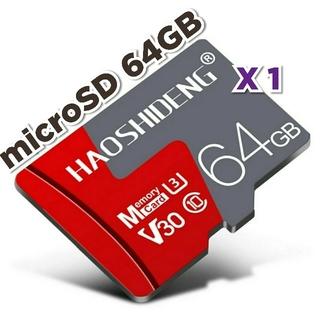 マイクロSD カード 64GB 1枚 実測95MB/s microSD HR/K
