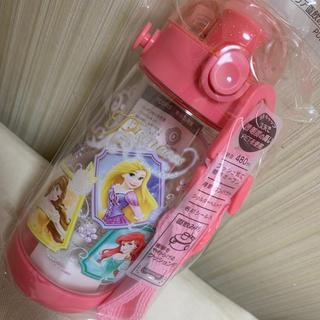 Disney - 480ml  プリンセス  クリア直飲みボトル
