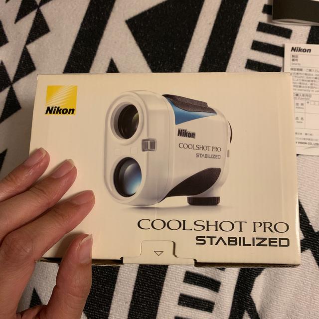 Nikon(ニコン)のNikon  COOLSHOT PRO STABILIZED 距離計 スポーツ/アウトドアのゴルフ(その他)の商品写真