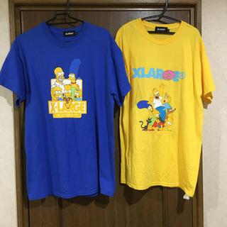 エクストララージ(XLARGE)のxlarge エクストララージ  シンプソンズ コラボ(Tシャツ/カットソー(半袖/袖なし))