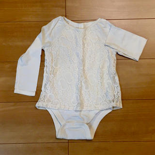 ベビーギャップ(babyGAP)のベビーギャップ★レーストップス★ロンT★サイズ90(Tシャツ/カットソー)