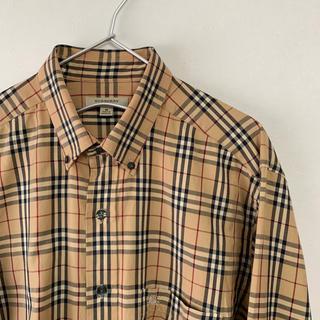 BURBERRY - 美品  BURBERRY LONDONノバチェック 総柄 長袖 BDシャツ