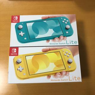 Nintendo Switch - 【新品】任天堂スイッチライト イエロー ターコイズ