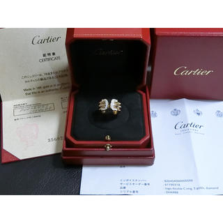 カルティエ(Cartier)の2Cダイヤモンドリング✩︎美品✩︎廃盤✩︎レア(リング(指輪))