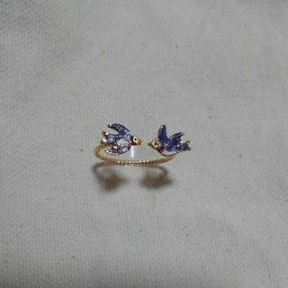 ブルーブルーエ(Bleu Bleuet)のBleu Bleuet ツバメリング(リング(指輪))