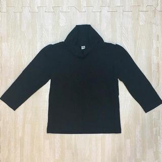 ブラックタートルネック★サイズ90(Tシャツ/カットソー)