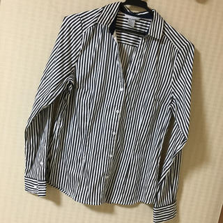 H&M - h&m 白黒ストライプシャツ♡