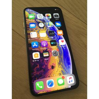 iPhone - SIMロック解除 iPhone Xs Silver 256 GB docomo
