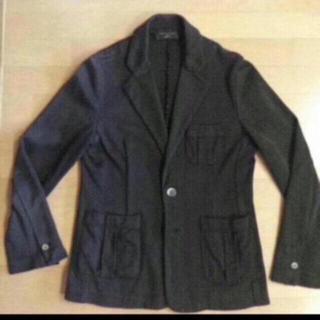 シップス(SHIPS)のシップス ロベルトコリーナ テーラードジャケット 46サイズ M(ニット/セーター)