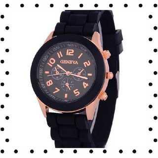 【値下げ!】学生大人気!おしゃれビビットカラーシリコン腕時計