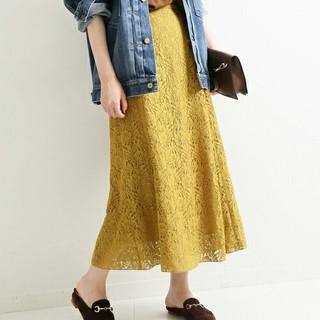IENA - 【新品】IENA フラワーレーススカート