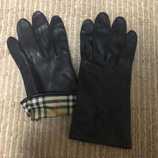 バーバリー 手袋