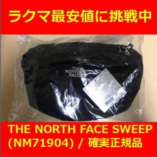 THE NORTH FACE - 最安 THE NORTH FACE SWEEP Black NM71904