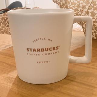 スターバックスコーヒー(Starbucks Coffee)のスターバックス マグカップ 白 海外(グラス/カップ)
