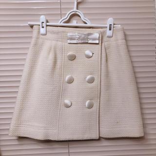 ミッシュマッシュ(MISCH MASCH)のMISCH MASCH OL スカート モノトーン 韓国 dholic (ひざ丈スカート)