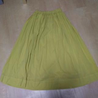 ミナペルホネン(mina perhonen)の北欧、暮らしの道具店 ロングギャザースカート (ロングスカート)
