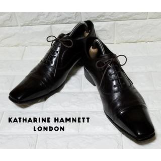 KATHARINE HAMNETT - ✿KATHALINE HAMNETT✿ストレートチップ 27.0cm 黒茶