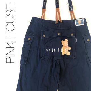 PINK HOUSE - ★ピンクハウス ★ワークパンツ カーゴパンツ ネイビー