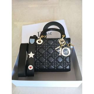 Christian Dior - DIOR ディオール ハンドバッグ ショルダーバッグ バッジ付き