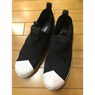 adidas - adidas アディダス スリッポン  黒 ブラック