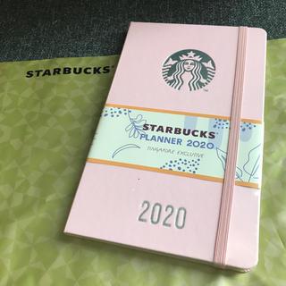 スターバックスコーヒー(Starbucks Coffee)のスタバ Moleskin 2020年 手帳 ピンク スケジュール帳 モレスキン(カレンダー/スケジュール)