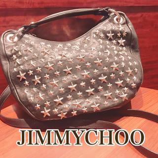 ジミーチュウ(JIMMY CHOO)のジミーチュウ ステラ☆黒☆ ほぼ未使用!(トートバッグ)