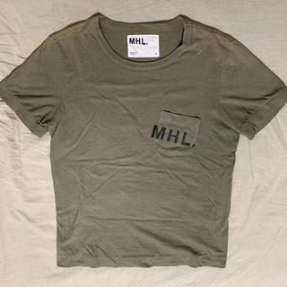 MARGARET HOWELL - MHL. Tシャツ カーキ
