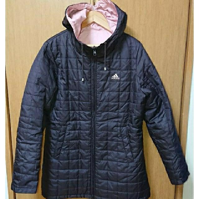 adidas(アディダス)のアディダス 中綿入りリバーシブル グランドコート 美品です レディースのジャケット/アウター(ダウンジャケット)の商品写真