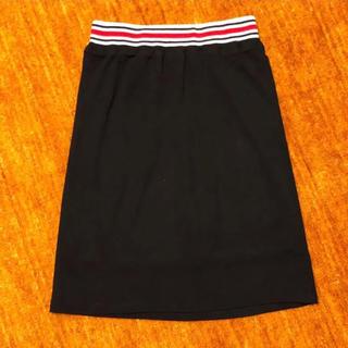 アフリカタロウ(AFRICATARO)のafrica taro アフリカタロウ/スカート*黒*F(ひざ丈スカート)