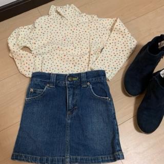 サマンサモスモス(SM2)のハイネックトップス 100(Tシャツ/カットソー)
