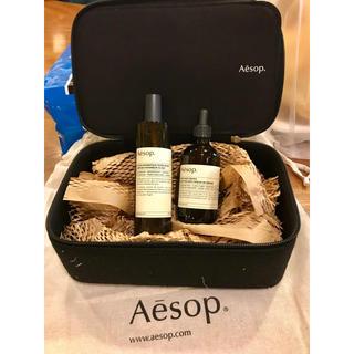 イソップ(Aesop)のAesop ギフトボックス付き 新品ルームスプレーとトイレアロマ 巾着有り(アロマグッズ)
