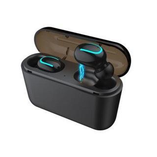 Bluetooth イヤホン ワイヤレス 高音質 軽量 防水 【ブラック】