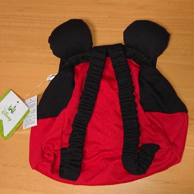 Disney(ディズニー)のミッキーマウス ベビー リュック キッズ/ベビー/マタニティのこども用バッグ(リュックサック)の商品写真