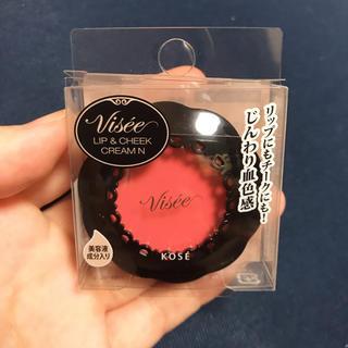 ヴィセ(VISEE)のヴィセ リシェ リップ&チーククリーム N PK-8 アプリコットピンク(チーク)