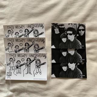 Supreme - Supreme ステッカー 6枚 The Velvet Underground