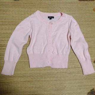 ベビーギャップ(babyGAP)のカーディガン(女の子用・95・ピンク・babyGap)(カーディガン)