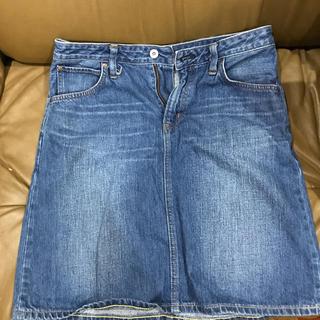 ベドウィン(BEDWIN)のEDWIN デニムスカート Mサイズ(ひざ丈スカート)