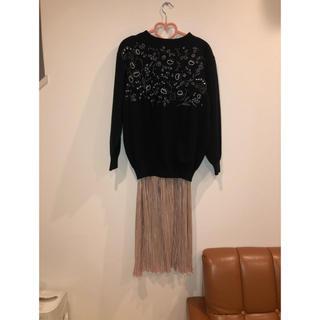 vintage ウール・セーター(ニット/セーター)