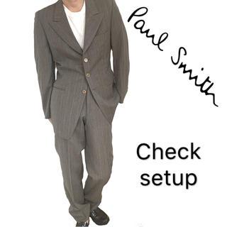 Paul Smith - paul smith ポールスミス チェック スーツ セットアップ