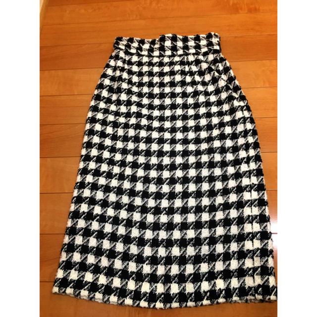 NATURAL BEAUTY BASIC(ナチュラルビューティーベーシック)のNATURAL BEAUTY BASIC  チェックスカート レディースのスカート(ひざ丈スカート)の商品写真