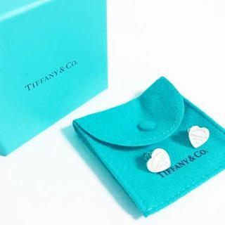 ティファニー(Tiffany & Co.)の☆新品☆未使用☆ティファニーリターントゥティファニーハートピアス(ピアス)