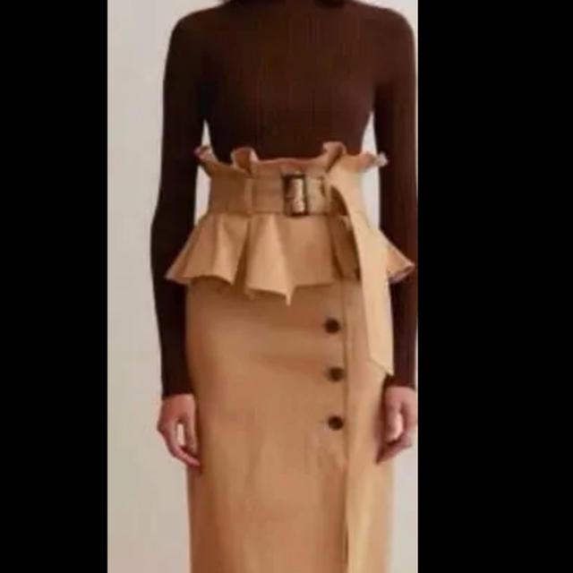 snidel(スナイデル)の〈値下げしました!〉スナイデル同型秋冬最新スカート☆0サイズ(S) レディースのスカート(ロングスカート)の商品写真