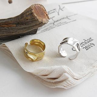 silver925でこぼこプレートリング(リング(指輪))