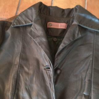 シビラ(Sybilla)のシビラのラグジュアリースポーツウエアーの牛革のコート(テーラードジャケット)
