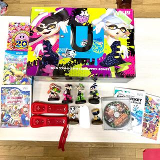 Wii U - 【超美品】wiiUスプラトゥーンセット!多数オマケ付き
