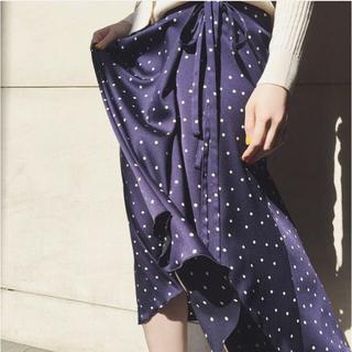 IENA - IENA ドットプリントスカート